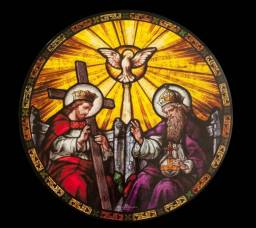 The-Holy-Trinity-in-Stained-Glass